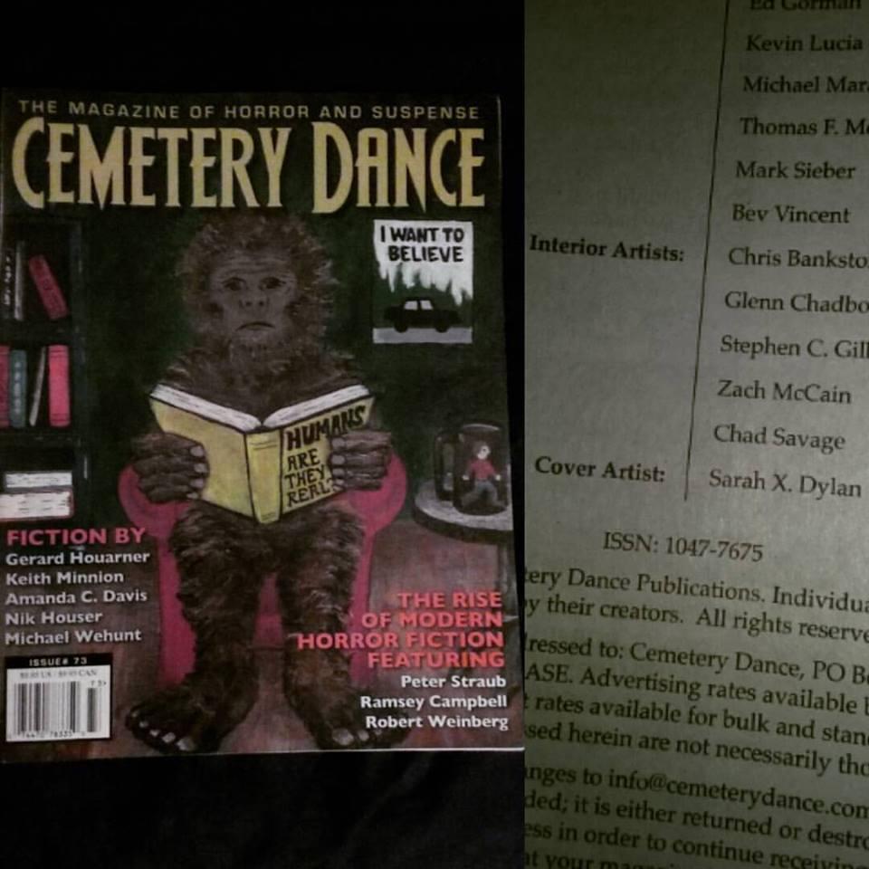 cemetery dance, stephen king, funemployment Radio, portland, oregon, podcast