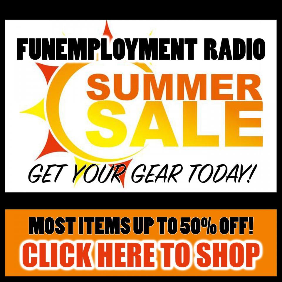 funemployment radio t-shirt sale