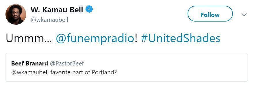 W. Kamau Bell United Shades Funemployment Radio
